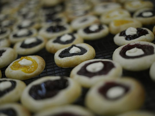 Homemade kolaches from a family recipe are on the dessert menu for Oktoberfest.