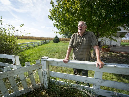 Richard Himsel lives on the farm his family has owned