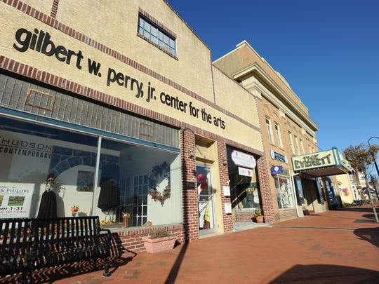 Gilbert W. Perry Jr. Center for the Arts in downtown Middletown.