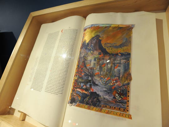 Illuminating the Word: The Saint John's Bible on display