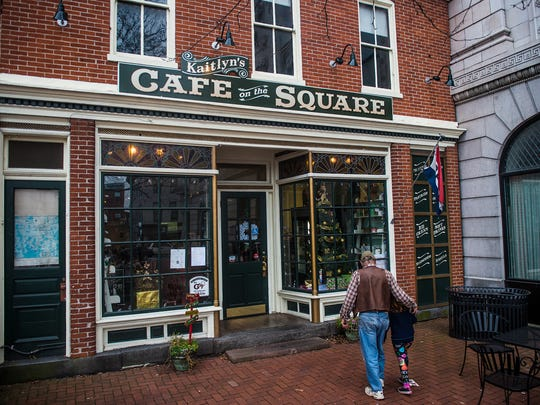 Kaitlyn's Cafe on the Square is a lunch option for shoppers, photographed on Dec. 13, 2015 in Gettysburg.