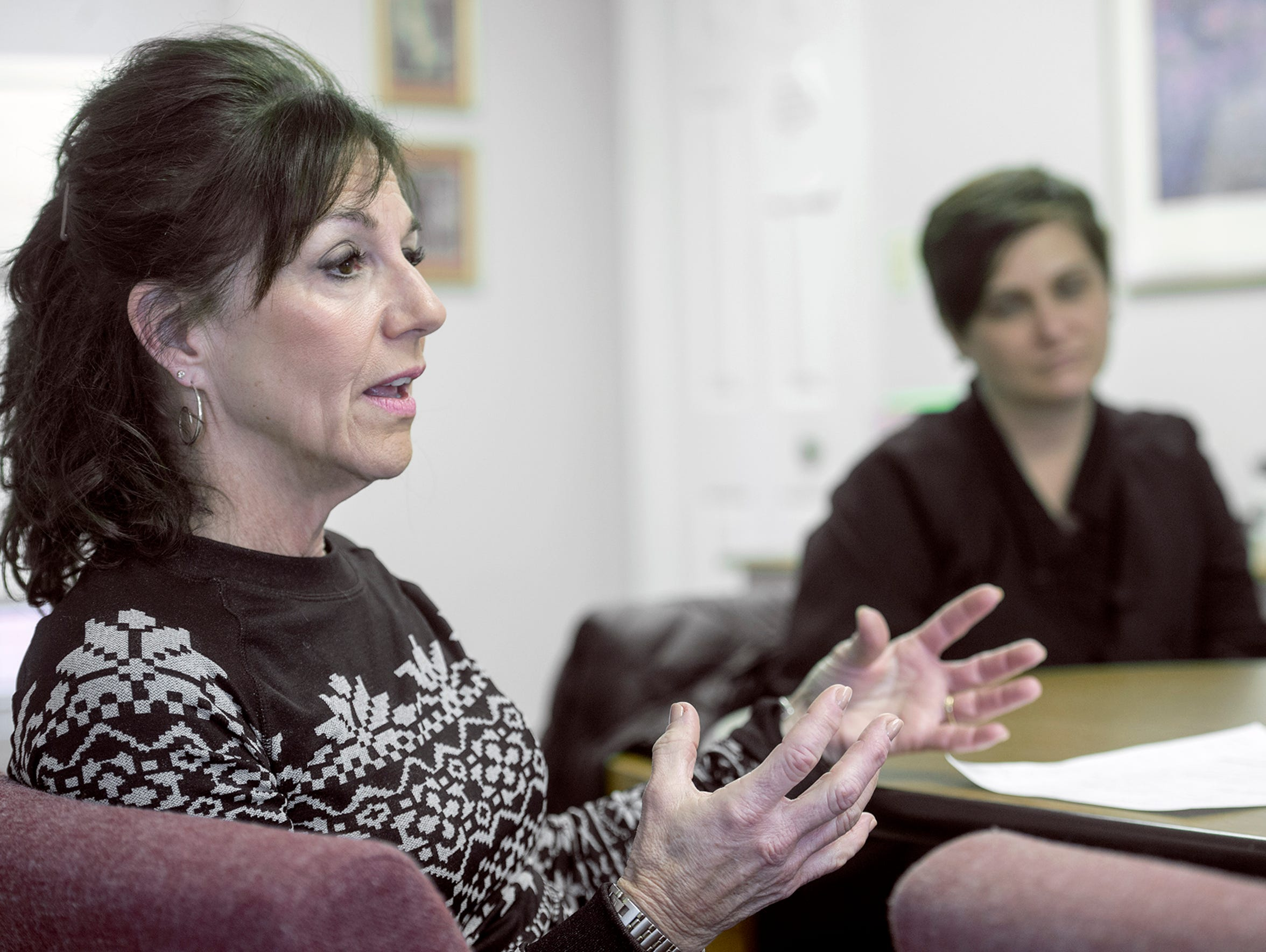 Anne Acker, director of YWCA Hanover Safe Home, was