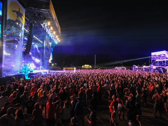 Organizers said 20,000 fans attended the Delaware Junction Country Music Festival in Harrington last year.