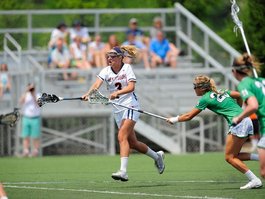 Senior attack Maggie Connolly, who scored 31 goals