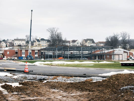 The current rear of York Country Day School will become