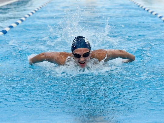 Penn State's Niki Price scored in all six events she competed in at the Big Ten swimming championships. The Northeastern graduate earned an NCAA bid as part of the Nittany Lions' 800 freestyle relay and 400 freestyle relay.