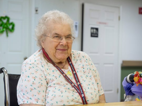 Frances Peiffer,  a PEER mediator at Michaux Manor Living Center, is a voice for fellow residents.