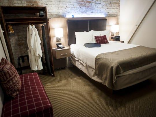 The La Mar suite is one of Hotel Arvon's deluxe rooms