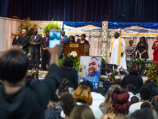 USP NEWS: ALTON STERLING FUNERAL A ELN USA LA