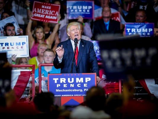 PHOTO: Trump rally in Mechanicsburg