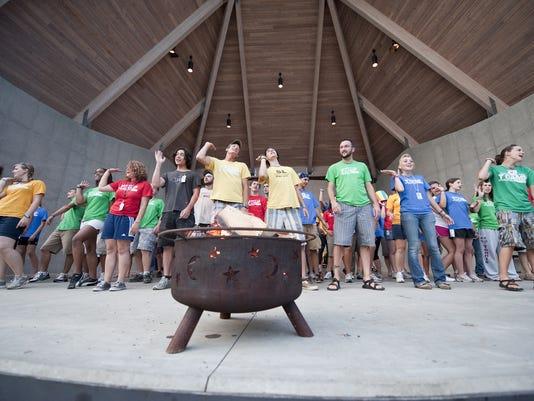 Campfire illuminates YMCA milestone