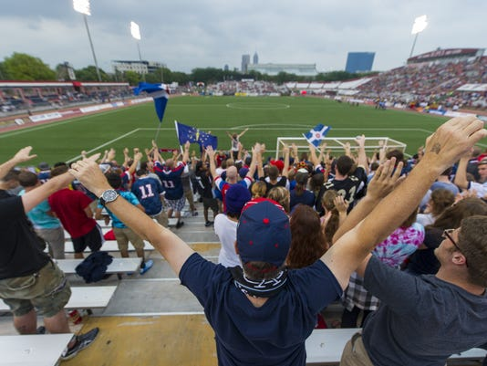 Indy Eleven vs. New York Cosmos