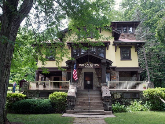 Indian Steps Museum in Lower Chanceford Township faces