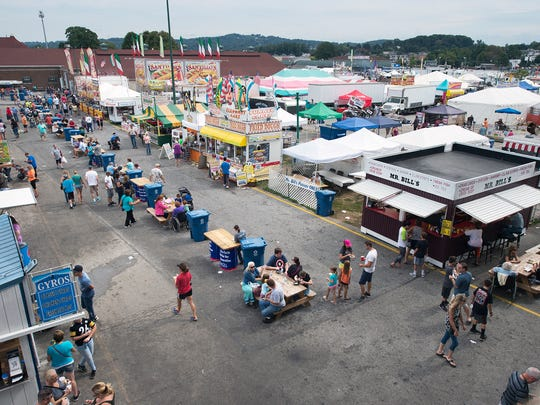 Total attendance at the York Fair in 2016 through Saturday was 503,313.