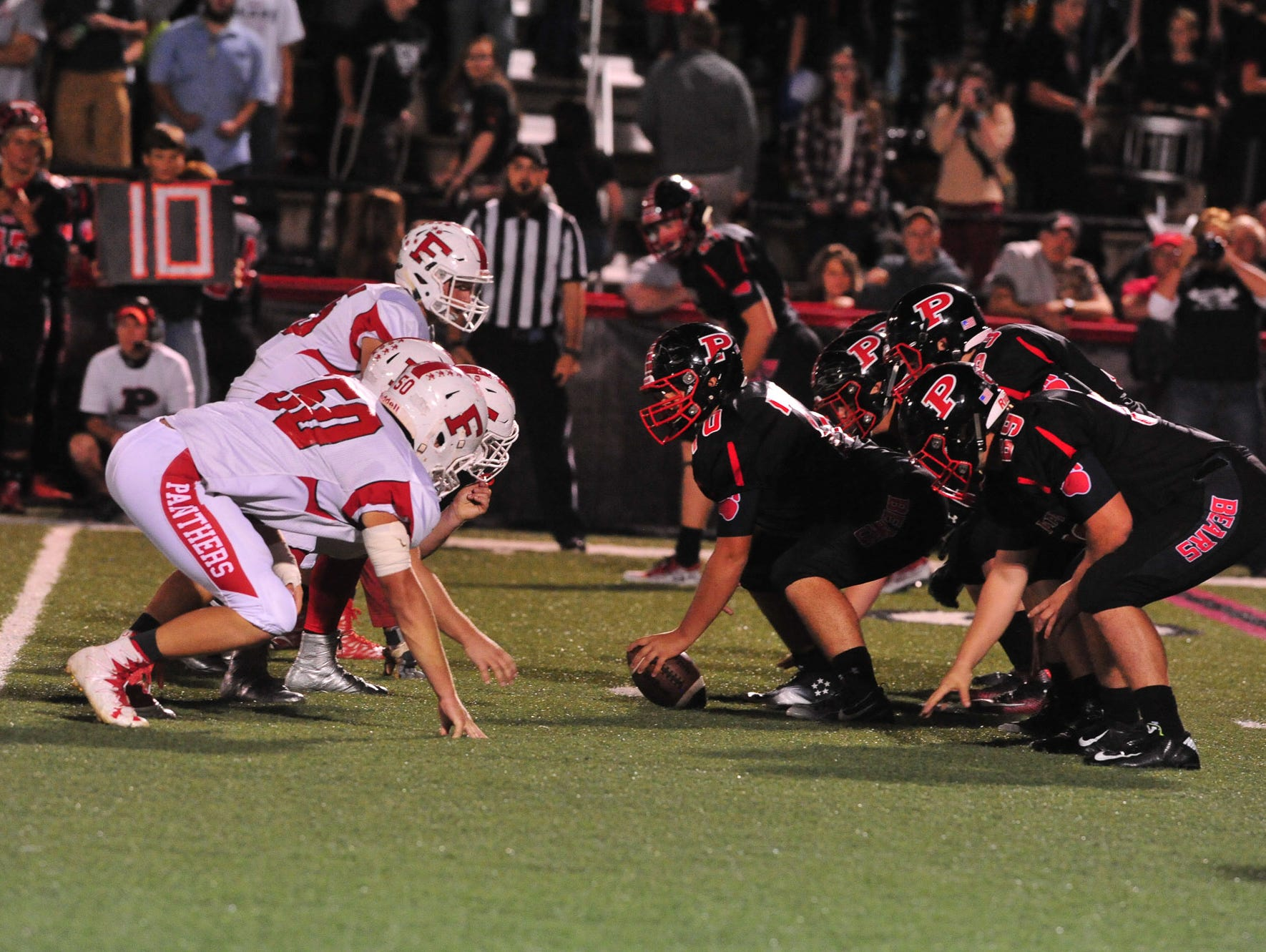 Pisgah defeated Franklin, 29-23, on Friday night in Canton.