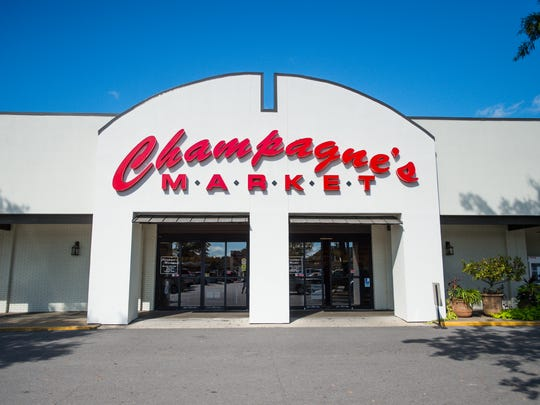Champagne's Market in Lafayette's Oil Center replaced a Piggly Wiggly supermarket.