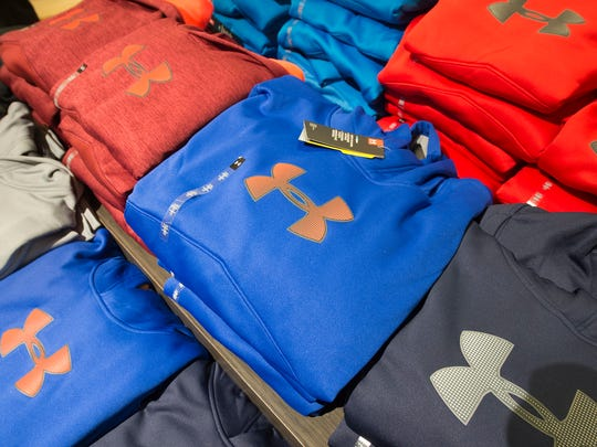 All 267 stores owned by Bon-Ton Stores will carry Under Armour apparel this holiday season, up from 100 stores in 2015. The company operates department stores under several different names including Bon-Ton, Carson's and The Boston Store.