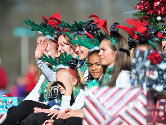 Scenes from the annual Weaverville Holiday parade in