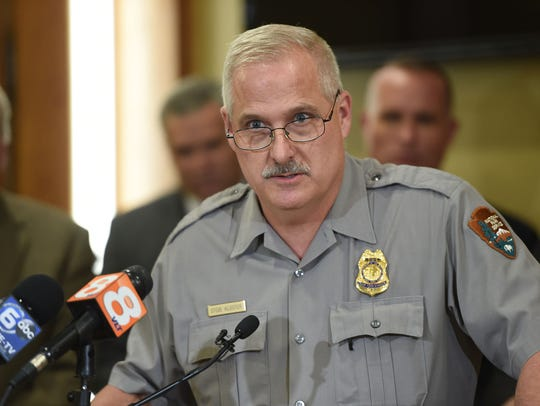 Great Smoky Mountains National Park chief ranger Steve