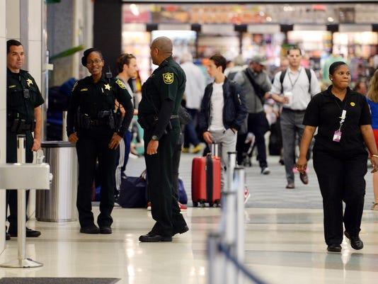 USP NEWS: FORT LAUDERDALE AIRPORT SHOOTING A ENL USA FL