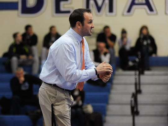 Pascack Valley head coach Tom Gallione guided his team to its first sectional title last season.