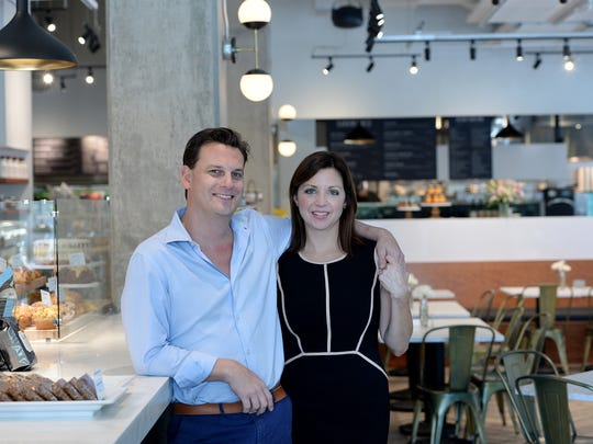 Kris and Margaret Furniss opened the first Caviar & Bananas in Charleston in 2008.