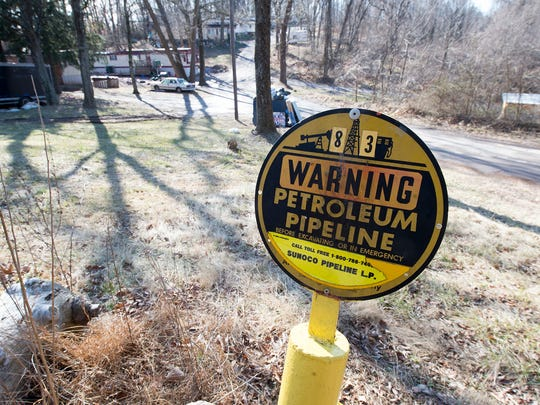 Sunoco Logistics' Mariner East pipeline crosses Fairview Township in York County.