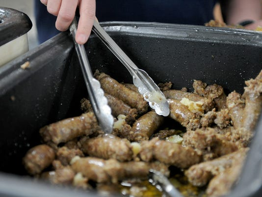 Windthorst Knights Sausage Meal