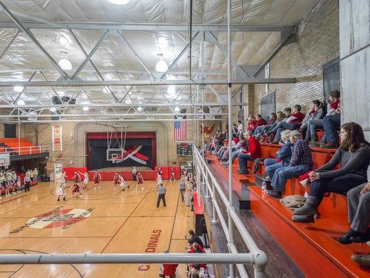 Washington Catholic's gym