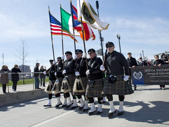 The 51st St. Patrick's Day Parade took place Downtown on Saturday.