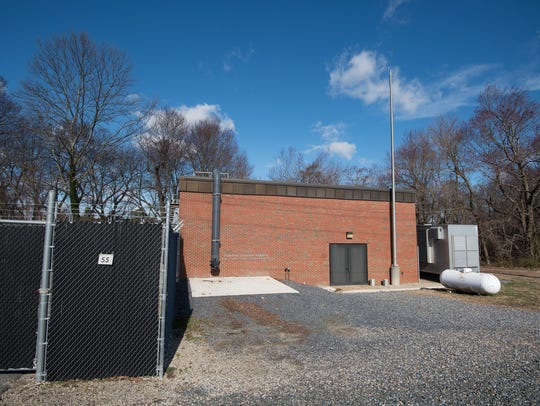 Kent County's sewage pump station 4, located at 55