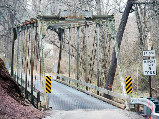 Officials closed the Sheepford Road bridge on Wednesday after an inspection showed that it is unsafe for traffic.