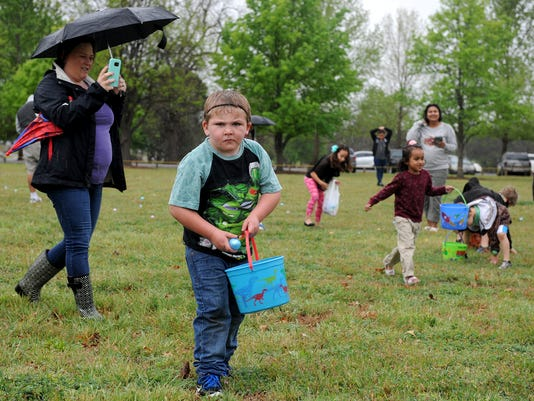 Wichita Falls annual Easter egg hunt