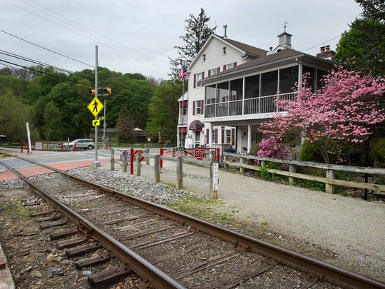 The Jackson House Bed and Breakfast in Railroad with the York County Heritage Rail Trail in the foreground. Pam Nicholson said that she expects a busy fall with group retreats and two weddings.