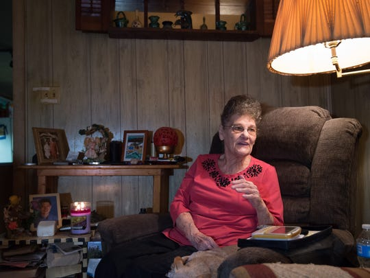 Ellen Stubbs of Frederica discusses how the urn of ashes of her late son, Ralph A. Kline, were returned from a man in southern Louisiana who found them while digging through some garbage.