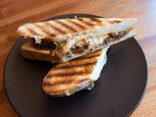 The Man's Man Grilled Cheese sandwich which will be