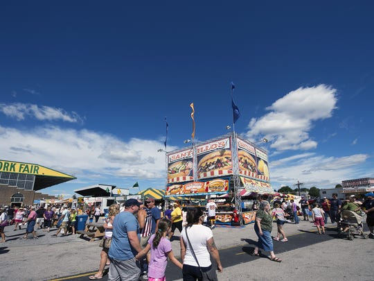 This is a scene from a beautiful day at the 2016 York Fair. The fair is one of many events held at the York Expo Center, which is getting hotel tax money for upgrades.