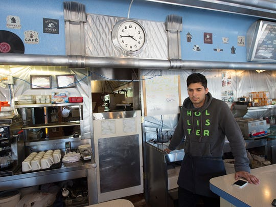 Samer Ilayan, age 19, the son of Omar works at Lee's Diner.