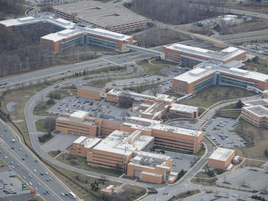 The 80-acre Fairfax campus that AstraZeneca sold to developer Delle Donne & Associates last summer is one of three sites Gov. John Carney is hoping will help convince Amazon to build its second U.S. headquarters in Delaware.
