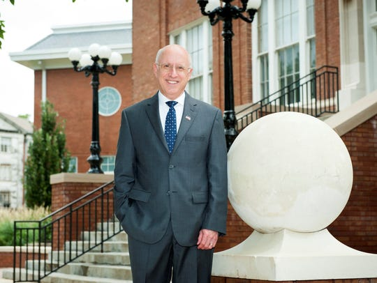 David Shaw, MSU's vice president for research and economic