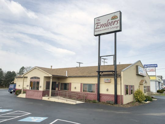 Feb. 26 -- The Embers Steakhouse in Springettsbury Township closed on Feb. 26. The restaurant had been a fixture in the area for decades.