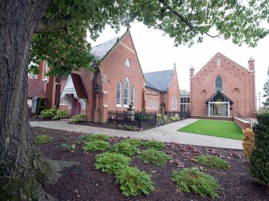 St John Episcopal Church in York. The sanctuary at