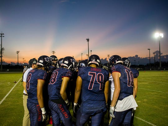 Estero High School and South Fort Myers High School faced off at Estero High School on Friday, September 22, 2017.