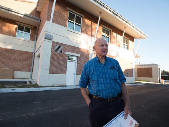 Rehoboth Beach resident Walter Brittingham stands outside the Rehoboth Beach City Hall.