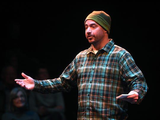 Reno Gazette Journal's Benjamin Spillman will emcee the Reno Storytellers Project in January.