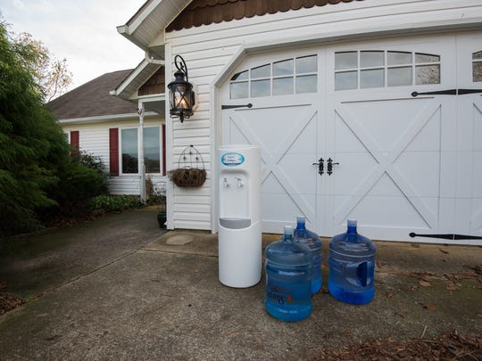 Mountaire Farms had drinking water and a water cooler delivered to the homes of residents near Millsboro after high levels of nitrates were found in private wells.