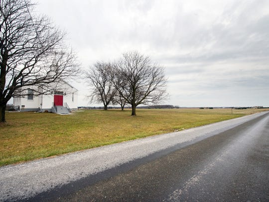 The wide open spaces around at Fawn AME Zion Church