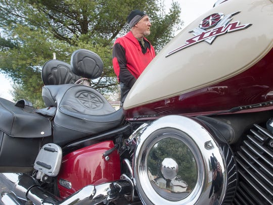 """""""When your number's pulled, the man upstairs doesn't care whether you're riding in a plane, a train, a bus or a motorcycle — you're going, and there's nothing you can do to stop it,"""" said motorcycle rider James Fitzgerald."""