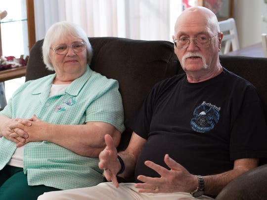 Virginia and Jack Cotterman moved to Kent county, from Texas, after looking at places up and down the state. They chose Delaware because of the lower property taxes and because they wanted to be close to their three children in Connecticut.