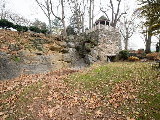 This gazebo was built on a historic limekiln in Springettsbury